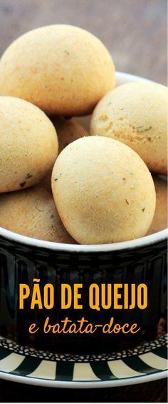Faça um delicioso pão de queijo com batata-doce