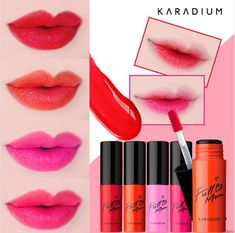 Karadium Full Moon Color Long Lasting Lip Tint 5 Color #Karadium