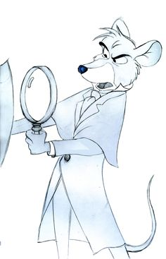 Basil of Baker Street. The Great Mouse Detective is my favorite Disney movie