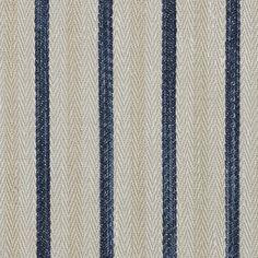 Calvados Ticking – Indigo - Stripes - Fabric - Products - Ralph Lauren Home - RalphLaurenHome.com