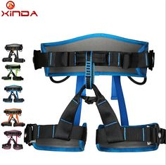 check discount xinda professional half body safety belt harnesses for rock climbing outdoor expand #safety #training