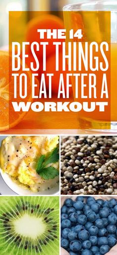 WeightLossFast: The 14 Best Things To Eat After A Workout