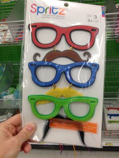 Funny Novelty Moustache glasses for loot bags 4.00 @ Target