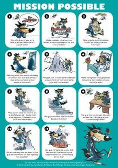 Mission Possible-poster > Kids'skills voor oudere kinderen. Meteen toepasbaar en erg effectief.