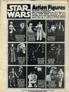 star wars action figures #starwars #figures #toy #retro