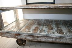 TV Media Console Stand Reclaimed Wood. $679.00, via Etsy.