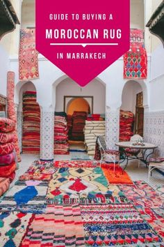 7 Tips for Buying a Rug in Marrakech How to buy a great rug in Marrakech without getting ripped off (and where to go to find them! Visit Marrakech, Marrakech Travel, Morocco Travel, Marrakech Morocco, Africa Travel, Vietnam Travel, Places To Travel, Places To Go, Travel Destinations