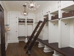 My future mud room. But different colors