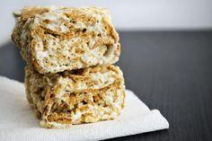 Golden Graham Rice Krispie Treats