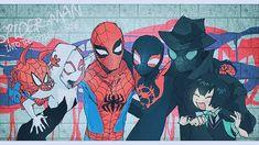 Spiderman Art, Amazing Spiderman, Miles Morales Spiderman, Runaways Marvel, Happy Tree Friends, Spider Gwen, Marvel Jokes, Spider Verse, Comic Book Characters