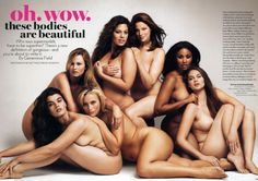 love all the different shapes, beauty comes in all sizes...