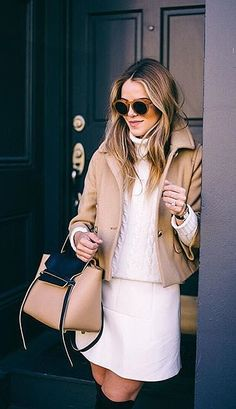 Coordinate With a Touch of Camel