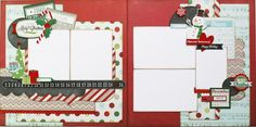 Simply Christmas 2 page layout (Medium)