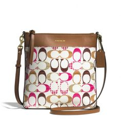 ♥♥♥♥♥♥♥♥♥LOVE IT♥♥♥♥♥♥♥♥♥ The Bleecker North/south Swingpack In Signature Coated Canvas from Coach