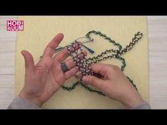 Bahar Dalı Gözlük Zinciri Yapımı - YouTube