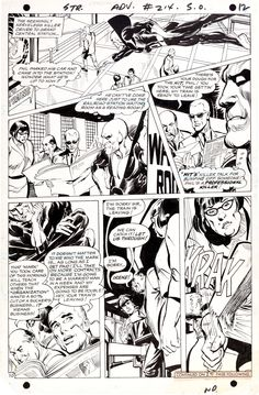 Neal Adams Strange Adventures #214 Deadman Page 10