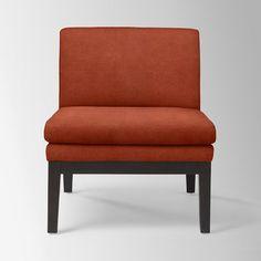Upholstered Slipper Chair | west elm