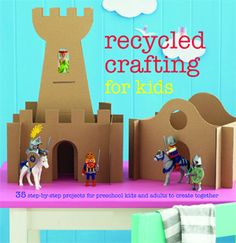 The Paperback of the Recycled Crafting for Kids: 35 Step-by-Step Projects for Preschool Kids and Adults to Create Together by Kate Lilley at Barnes & Recycled Crafts Kids, Crafts For Kids, Folded Paper Stars, Paper Medallions, Lego, Mother Earth News, Green Gifts, Child Love, Book Crafts