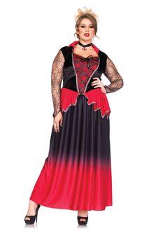 Plus Size Just Bitten Beauty Costume