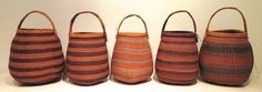 """Khwe Basket, Namibia Used to collect berries and herbs by """"Hunter-Gatherers"""""""