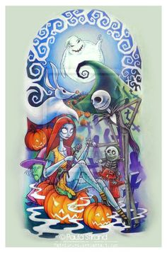 Nightmare Before Christmas Sleeve by hatefueled.deviantart.com on @deviantART