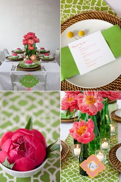 Brooklyn Bride Modern Table Challenge: Kelly Wearstler-inspired table by Bespoke Events and Denise Fasanello Floral Design