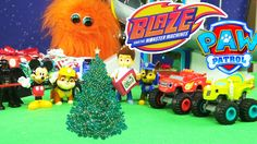 Blaze and The Monster Machine and The Paw Patrol The Night Before Christmas Adventure