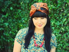 Sweet Thing: HOW TO. TURBAN {TWO WAYS}