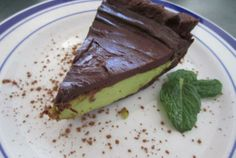 Raw Chocolate-Mint Pie, so lovely.