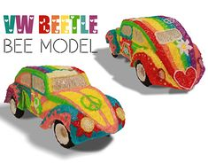 """Check out new work on my @Behance portfolio: """"3Dpen VW Beetle Hippie Design"""" http://be.net/gallery/60777447/3Dpen-VW-Beetle-Hippie-Design"""