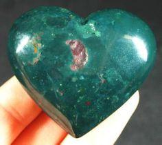 Heart:  Heliotrope / Bloodstone  isn't she beautiful ?  ( my private property  since14 Februari 2014) ~Mac61