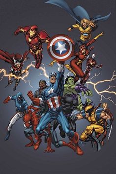 New Avengers and Young Avengers