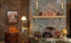Best No Cost pebble Stone Fireplace Thoughts Fantastic Totally Free pebble Stone Fireplace Tips stone fireplace Stone Fireplace Pictures, Stone Fireplace Designs, Stone Fireplace Mantel, Stacked Stone Fireplaces, Cabin Fireplace, Rock Fireplaces, Custom Fireplace, Wood Mantle, Fireplace Ideas