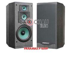 Loa Paramax P-609F thuộc dòng loa karaoke Paramax. Sử dụng loa Paramax P-609F cho dàn âm thanh karaoke gia đình.