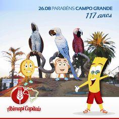 Campo Grande - 117 anos