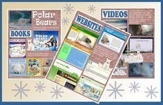 Are you and your students studying polar bears? This FREE pdf file from The Library Patch is full of librarian approved resources. Websites and videos are just a click away. Download the file. Open it up. Click on one of the pictures and be instantly transported to that website or video.