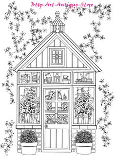 Creative Haven Whimsical Gardens Coloring Colouring Book New Fun Gift Paperback…
