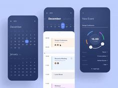 Hello everyone! This is an exploration I did recently about calendar app. This is Taski, which it rolled into the namesake app to create one centralized place for your tasks, goals, reminders, and . App Ui Design, Mobile App Design, User Interface Design, Ui Ux Design, Branding Design, Site Design, Flat Design, Kalender Design, Interface Design