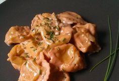 10 nagyon krémes és nagyon gyors tészta   NOSALTY Tortellini, Fusilli, Rigatoni, Gnocchi, Chicken, Meat, Recipes, Food, Eten