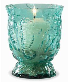Aqua Glass Starfish Candleholder - Coastal Home Decor - Seasons Gifts and Home Seaside Decor, Coastal Decor, Coastal Living, Cheap Beach Decor, Shades Of Turquoise, Light Turquoise, Dream Beach Houses, Beach Themes, Beach Ideas
