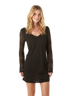 Roxy Lace Bell Dress $50