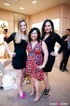 Sophie Pyle, Therese Quiao and Consuella Lopez