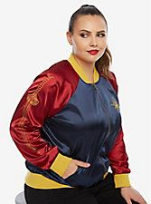 DC Comics Wonder Woman Satin Souvenir Jacket Plus Size from Her Universe <3