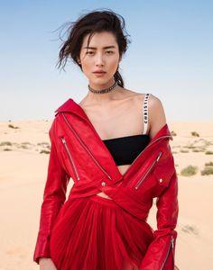 Liu Wen Is Lensed By Li Qi In 'Desert & Dazzle' For Elle China March 2017 — Anne of Carversville  http://www.anneofcarversville.com/style-photos/2017/3/21/liu-wen-is-lensed-by-li-qi-in-desert-dazzle-for-elle-china-march-2017