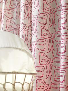 Boutique Bow Fabric Boutique Bows, Luxury Homes, Fabrics, Curtains, Interior Design, Architecture, Kids, Inspiration, Home Decor