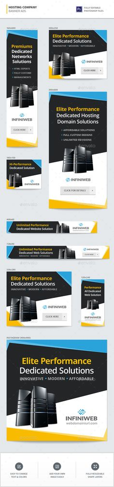 Hosting Company Banners