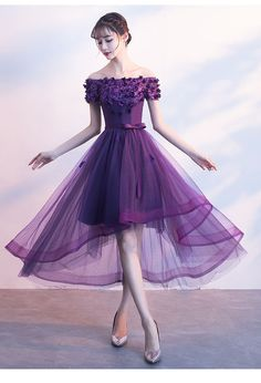 Dress small evening dress skirt female 2018 new summer host banquet banquet shou. - Dress small evening dress skirt female 2018 new summer host banquet banquet shoulder birthday party purple thin Source by ageberry - Evening Dress Long, Purple Evening Dress, Evening Dresses, Dress Summer, Long Purple Dress, Spring Dresses, Evening Outfits, Pretty Dresses, Women's Dresses