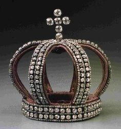Romanov Nuptual Crown, once part of the Russian Crown Jewels now at Hillwood in D.C.  Bookmark this member
