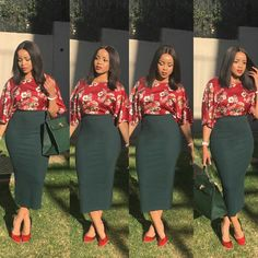 Stylish Women's Casual Dress To Rock This Season: African Queen Casual Work Outfits, Professional Outfits, Classy Outfits, Casual Dresses For Women, Cute Outfits, Clothes For Women, Corporate Attire, Business Casual Attire, African Fashion Dresses