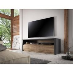 trendy home decored bedroom ideas tvs Home Office Space, Home Office Design, Living Room On A Budget, Living Room Decor, Ikea Hack Bedroom, Happy New Home, Muebles Living, Monaco, Trendy Home